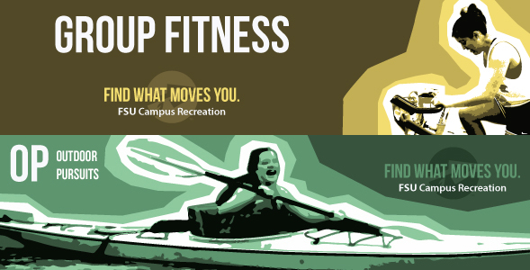 Campus Recreation: Group Fitness, Outdoor Pursuits